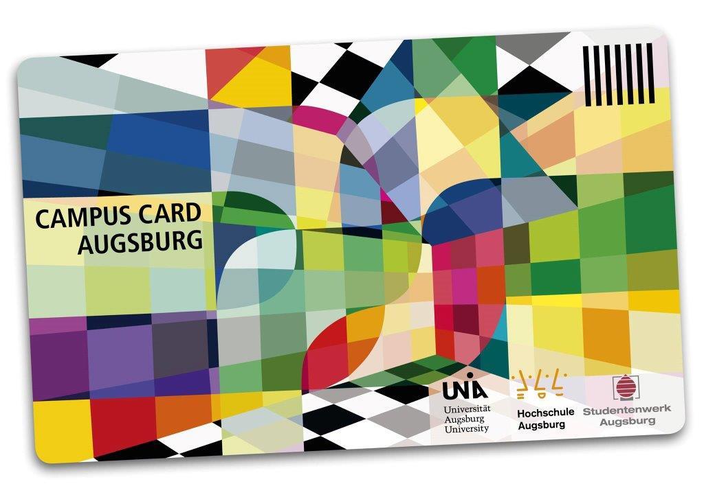 Vorderseite der CAMPUS CARD AUGBURG