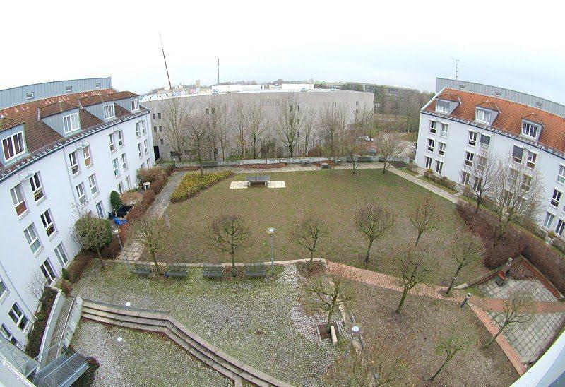 Wohnanlage Univiertel Innenhof
