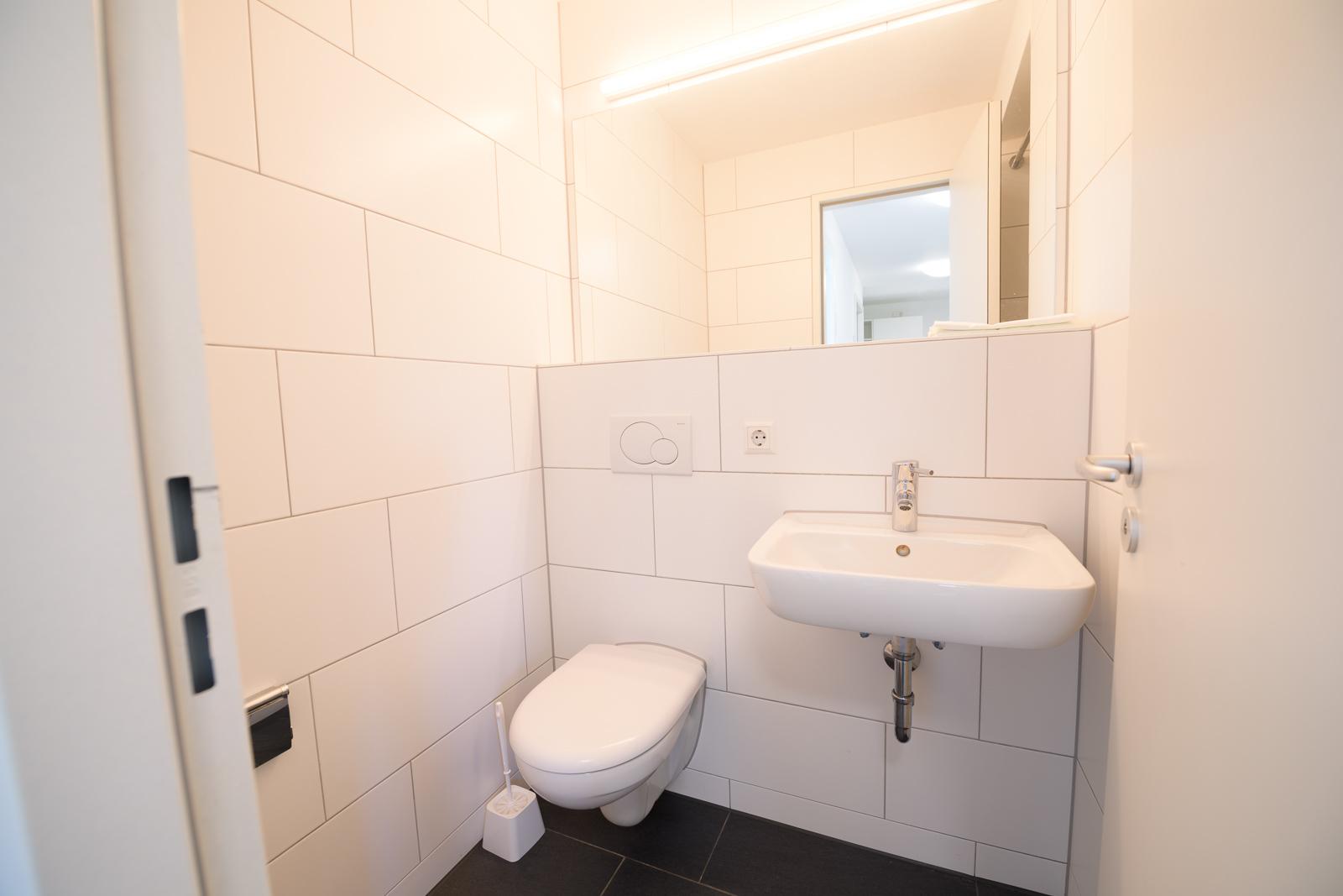 Badezimmer Einzelzimmer Wohnanlage Bürgermeister Ulrichstr.