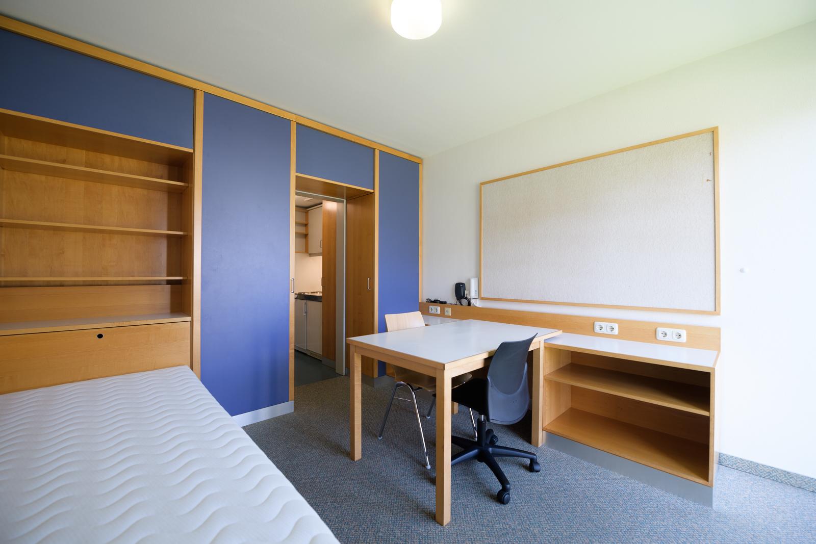 Einzelzimmer Wohnanlage Baustudierende