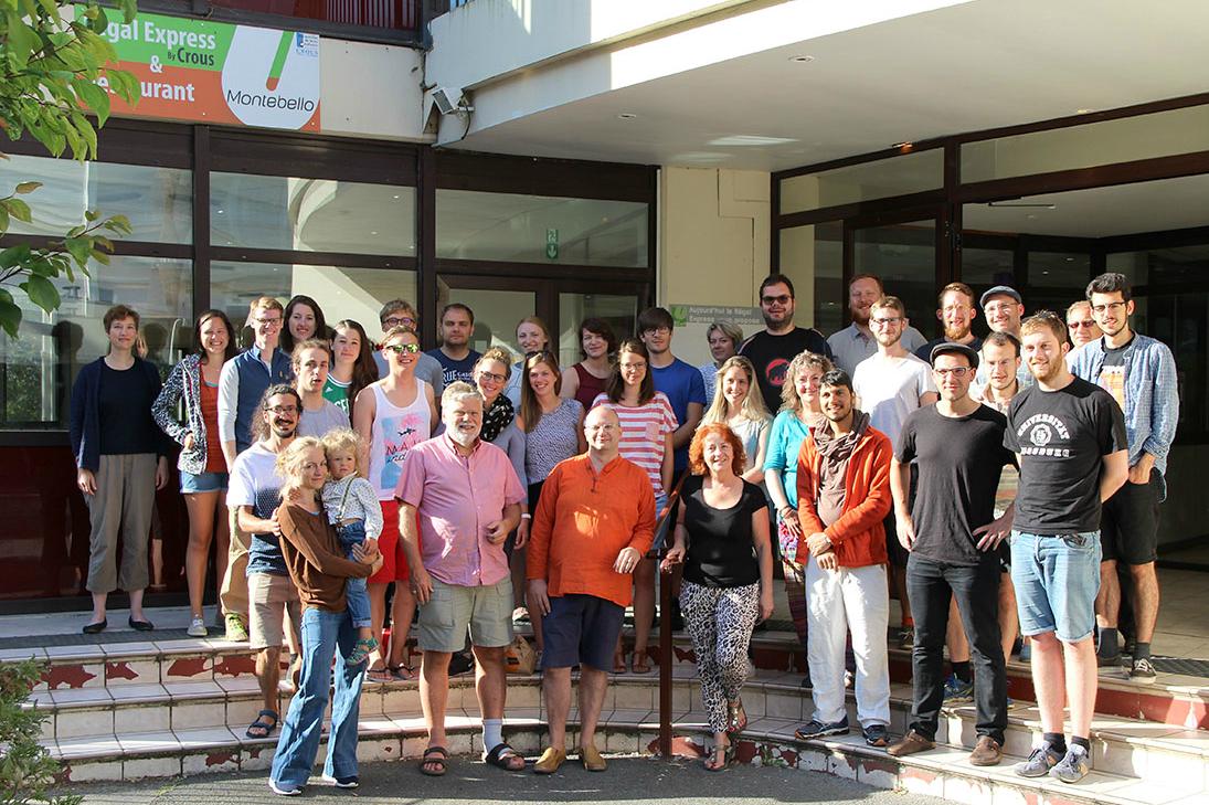 Gruppenbild der Augsburger Reisegruppe