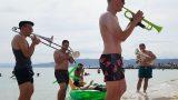Musik am Strand