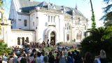 Die Big Band der Universität Augsburg beim Jazzfest Valrose